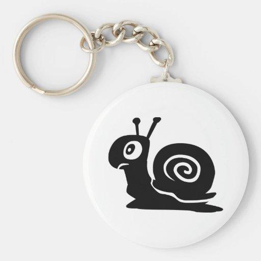 Snail Keychain