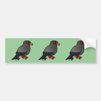 Snail Kite Car Bumper Sticker