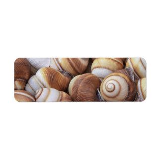 Snail Return Address Labels