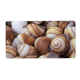 Snail Custom Shipping Label