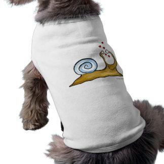 snail love shirt