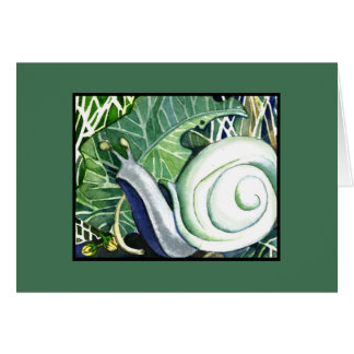 Snail Mail Blank Note Card