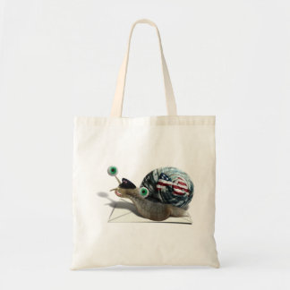 Snail mail bolsas lienzo