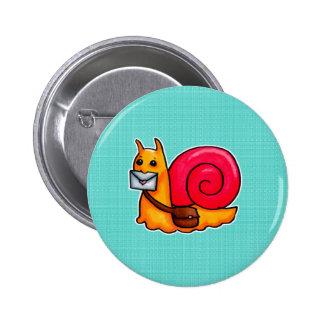 Snail mail 2 inch round button