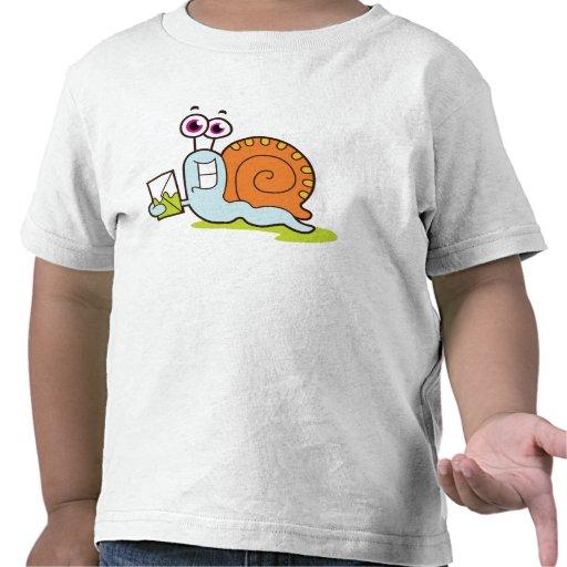 ¡Snail mail! Camisetas