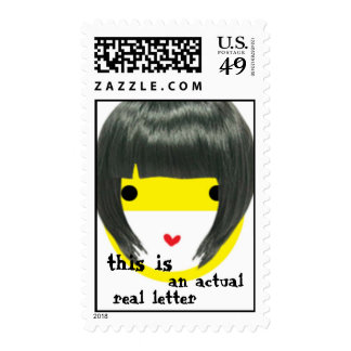 Snail Mail chick Stamp