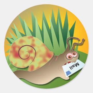 Snail Mail Classic Round Sticker