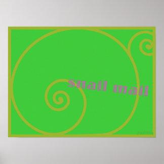 Snail mail de la cal impresiones