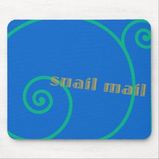 Snail mail del arándano alfombrilla de ratón
