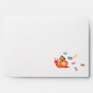 Snail mail envelopes