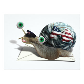 Snail mail invitación 13,9 x 19,0 cm