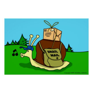 Snail Mail Kids Poster