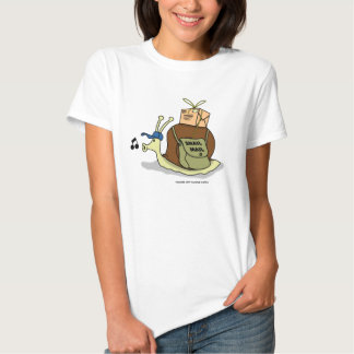 Snail Mail Ladies Baby Doll (Fitted) T-shirt