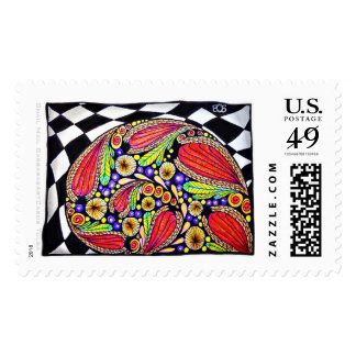 """""""Snail Mail"""" Large Postage $.49 1st Class"""