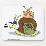 Snail mail Mousepad Alfombrilla De Raton
