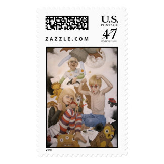 Snail Mail n.7 Postage Stamp