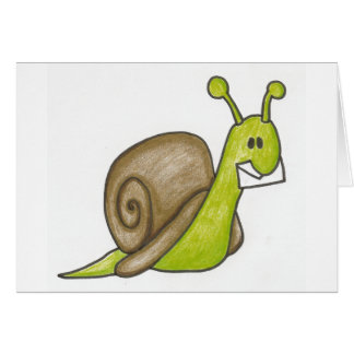 Snail mail Notecards Greeting Card