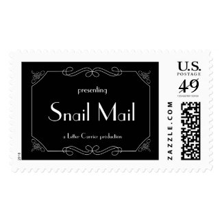 Snail Mail Stamp
