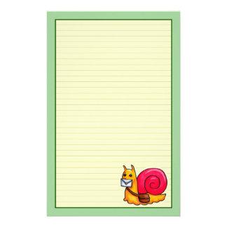 Snail mail stationery