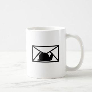 snail mail tazas de café