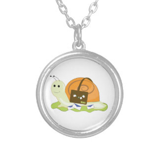 Snail Mailman Personalized Necklace