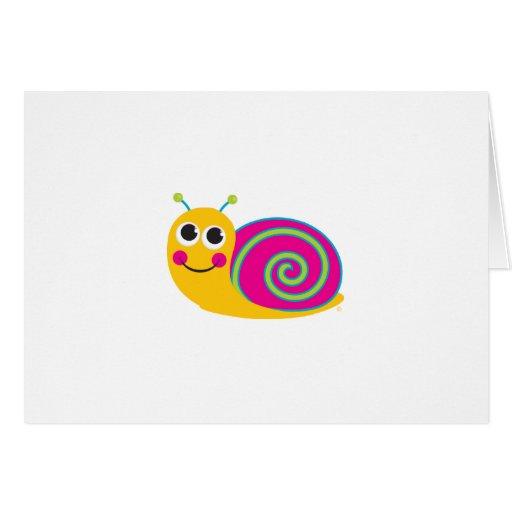 Snail Notecard