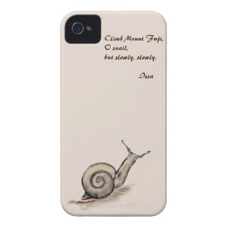 Snail original pastel zen drawing iPhone 4 Case-Mate case