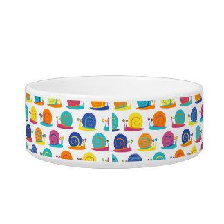 Snail Party Pattern Bowl