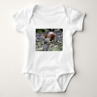 Snail Photo Baby Bodysuit