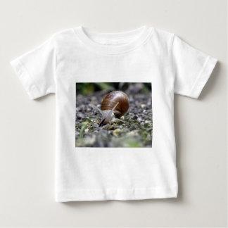 Snail Photo Baby T-Shirt