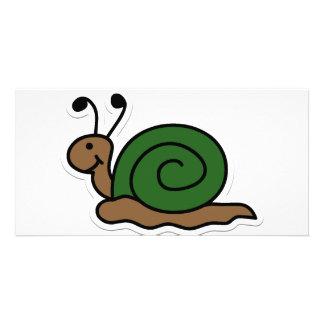 snail photo card