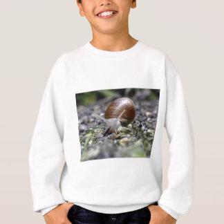 Snail Photo Sweatshirt