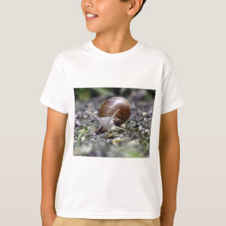 Snail Photo T-Shirt