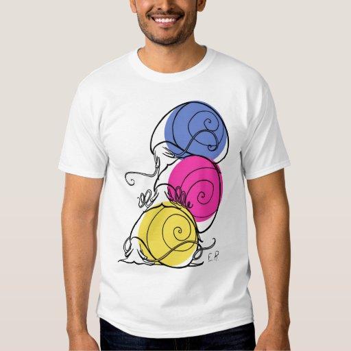 Snail Pile Men's Crew Neck T-Shirt