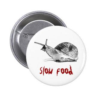snail pinback button