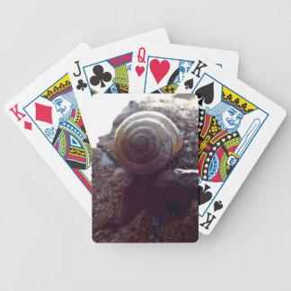 snail bicycle poker deck