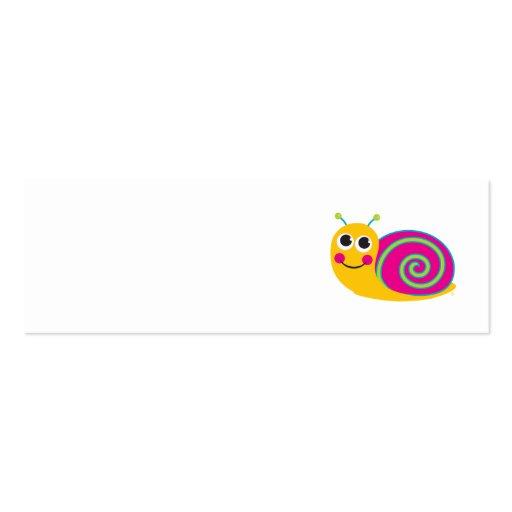 Snail Profile Card Business Card
