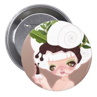 Snail Queen Buttons