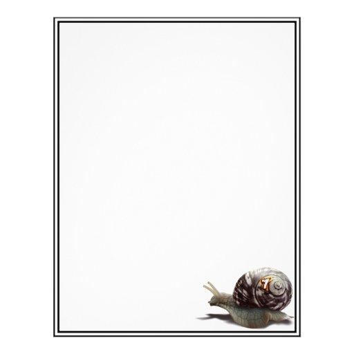 Snail Racer - Lucky #7 Flyers