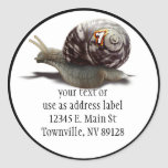 Snail Racer - Lucky #7 Stickers