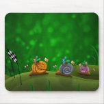 Snail Racing Mouse Pad