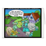 Snail Real Estate Sales Funny Gifts & Collectibles Greeting Card