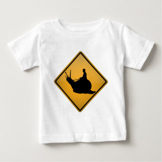 Snail Riding Baby T-Shirt