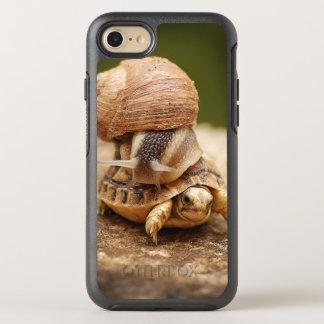 Snail Riding Baby Tortoise OtterBox Symmetry iPhone 7 Case