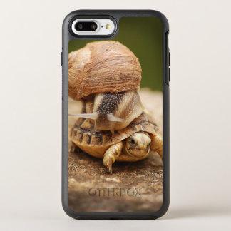 Snail Riding Baby Tortoise OtterBox Symmetry iPhone 7 Plus Case