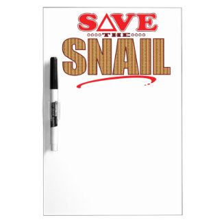 Snail Save Dry-Erase Board