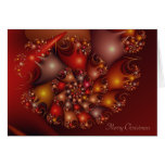 Snail shell - Merry Christmas Card