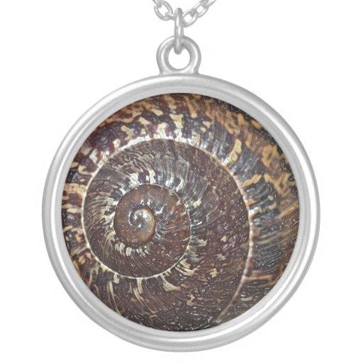 Snail Shell Necklace