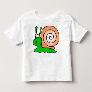 snail,slow toddler t-shirt