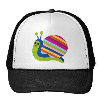 Snail Slugs Gastropoda Cute Cartoon Animal Trucker Hat